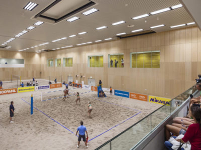 FaulknerBrowns architects, Sportcampus, The Hague